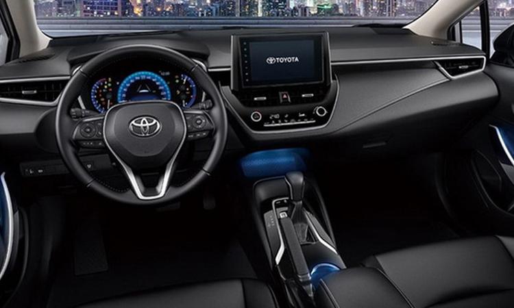 ภายใ Toyota Corolla Altis