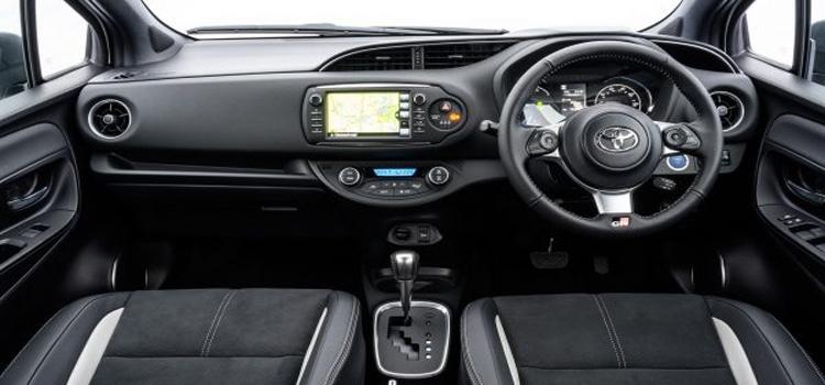 ภายใน Toyota Yaris 2019