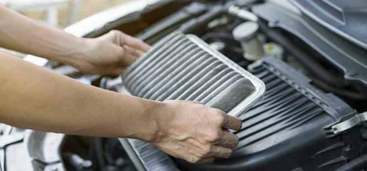 ไส้กรองอากาศของรถต้องได้รับการดูแล