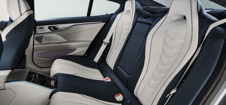 เบาะหลัง BMW 8-Series Gran Coupe 2020