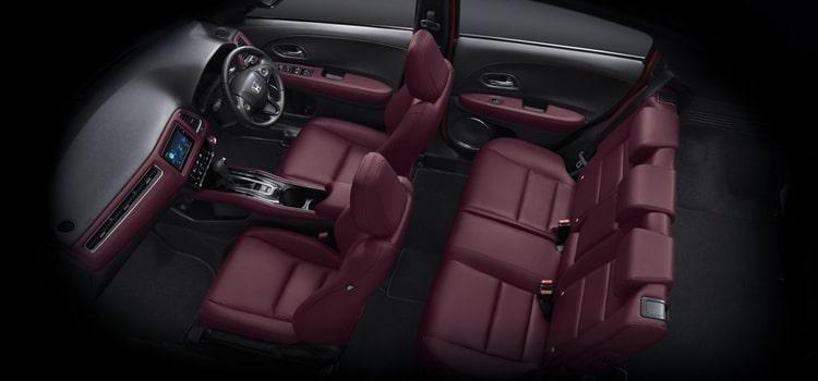 ภายใน และห้องโดยาร Honda HR-V