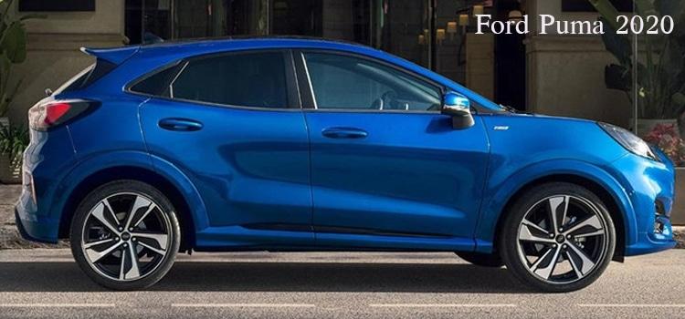 สี Ford Puma 2020