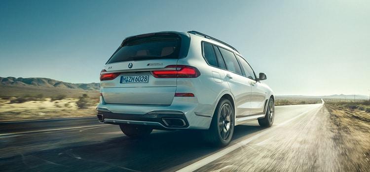 ท้ายรถ BMW X7 2019-2020