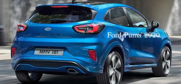 ไฟท้าย Ford Puma 2020