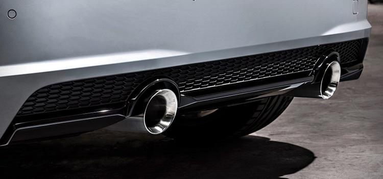 ปลายยท่อ Audi TT รุ่นฉลอง 20 ปี
