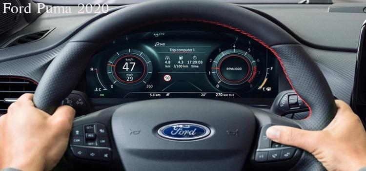 เรือนไม Ford Puma 2020