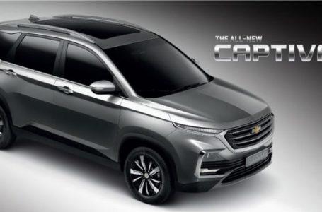All-NEW Chevrolet Captiva 2019-2020 เปิดตัวกันยายนนี้ คาดเริ่มต้นที่ 9 แสนบาท