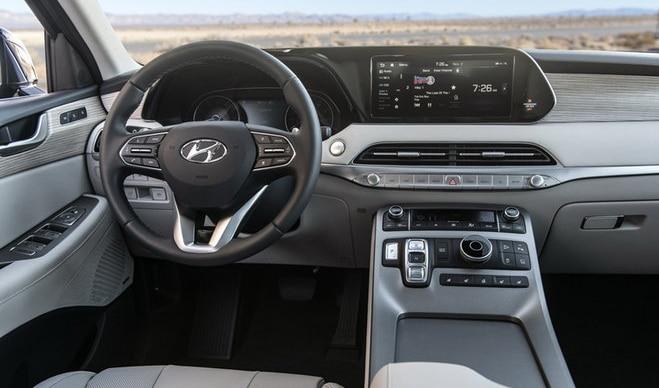 อุปกรณ์ภายใน Hyundai Palisade 2020