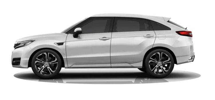 Honda UR-V SUV สีขาว