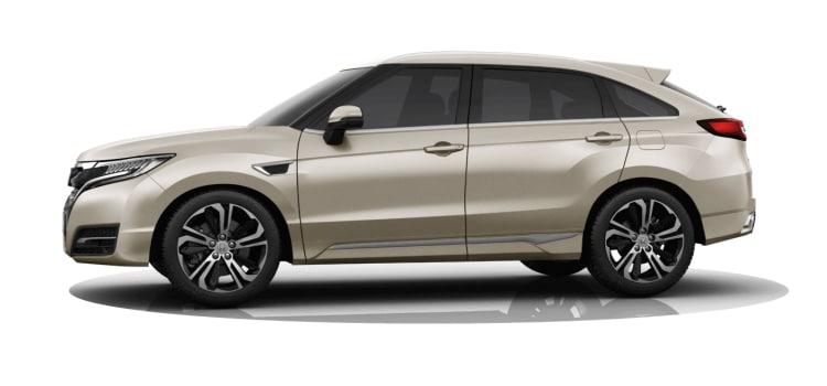 Honda UR-V SUV สีบอลทอง