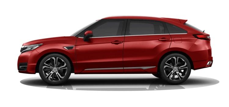 Honda UR-V SUV สีแดง