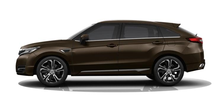 Honda UR-V SUV สีเทาดำ