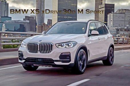 All NEW BMW X5 xDrive30d M Sport ราคา 5.6 ล้านบาท