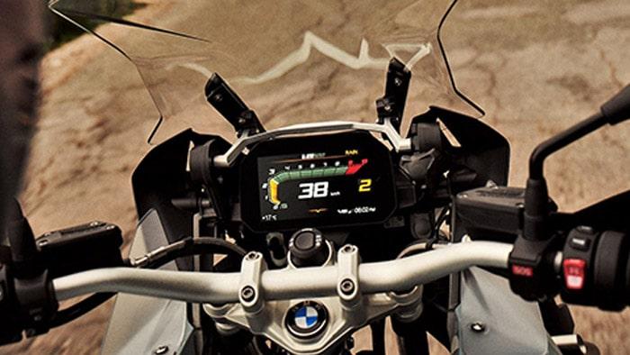 ระบบหน้าจอของ BMW R1250