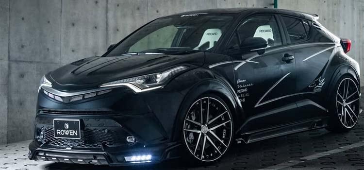 ปรับลุค Toyota C-HR ใหม่ สวยเข้มดุดำ