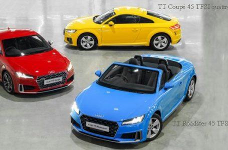 Audi ประเทศไทย อวดโฉม Audi TT รถสปอร์ตพรีเมี่ยมสเปกไทย ถึง 3 รุ่น