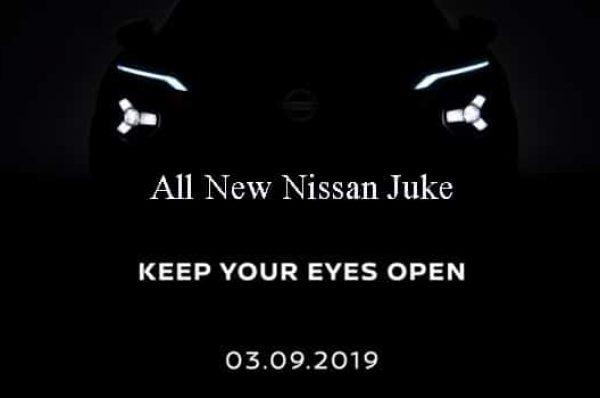 Nissan เตรียมเปิดตัว All New Nissan Juke ในกันยายน 2019 นี้