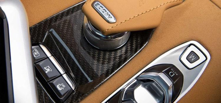 สีภายใน Chevrolet Corvette Stingray