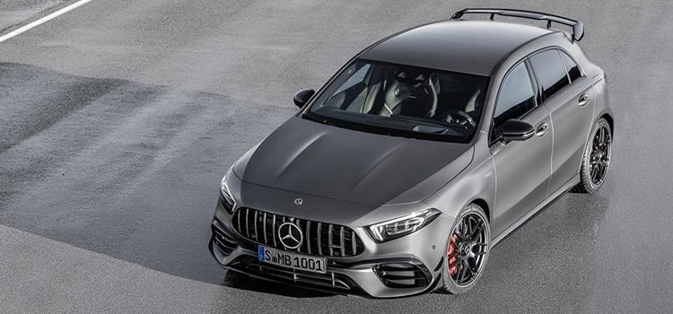 เปิดตัว Mercedes Benz-AMG A 45 และ CLA 45 ที่งาน Goodwood Festival of Speed ในประเทศอังกฤษ
