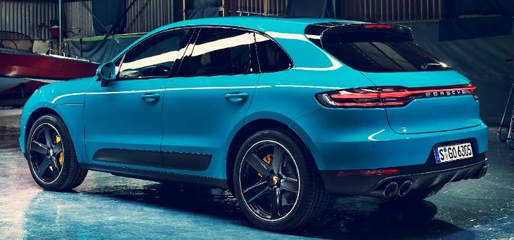 ดีไซต์ภายนอก Porsche Macan