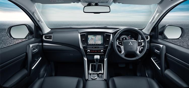 ภายใน New Mitsubishi Pajero Sport