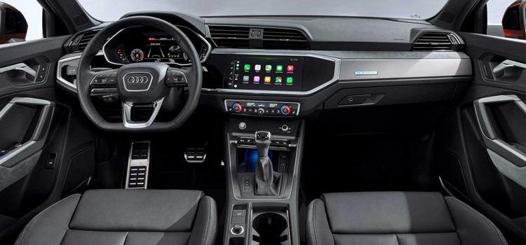 ภายใน มิติตัวรถของ Audi Q3 Sportback