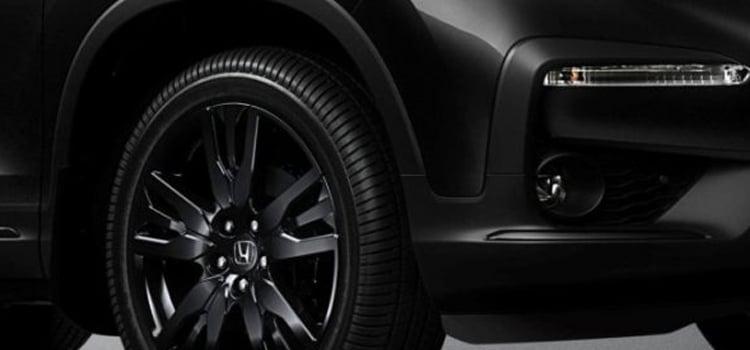 ดีไซน์ภายนอกของ Honda Pilot Black Edition 2020
