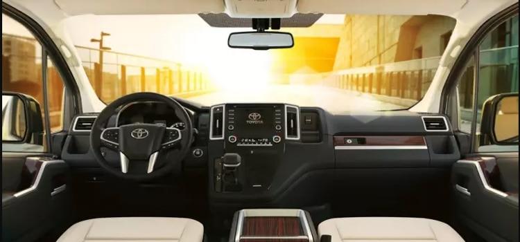 อุปกรณ์ภายใน Toyota new Granvia 2019