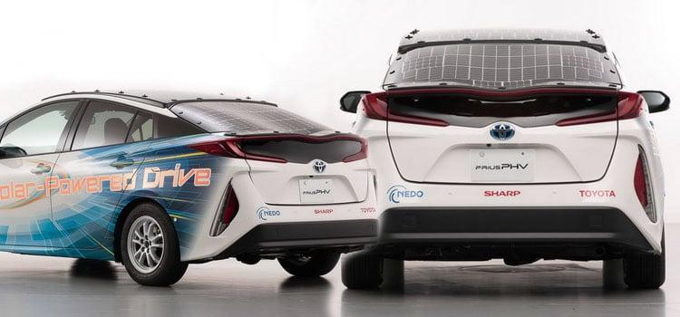 รถพลังงานไฟฟ้า Prius Prime Model