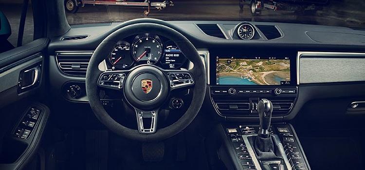 ภายใน Porsche Macan