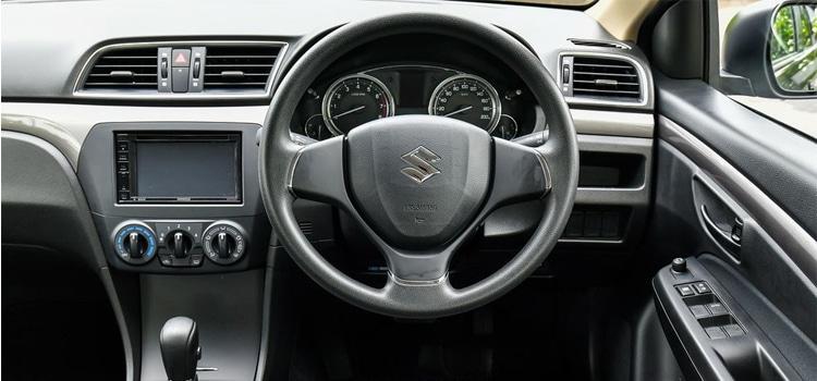 อุปกรณ์ภายใน New Suzuki Ciaz GL Plus 2019 - 2020