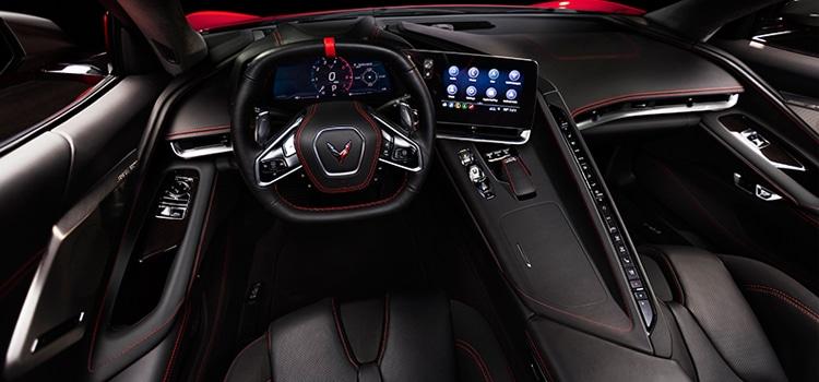 ดีไซน์ภายใน All New Chevrolet Corvette Stingray (C8)
