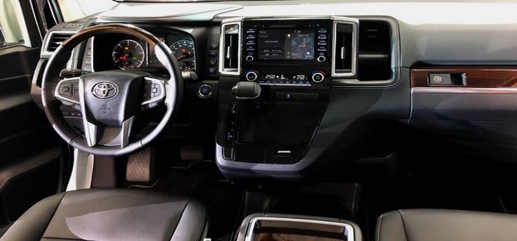 ดีไซน์ภายใน All New Toyota Majesty
