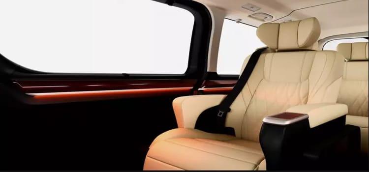 เบาะนั่ง Toyota new Granvia 2019