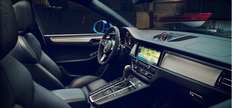 ดีไซต์ภายใน Porsche Macan