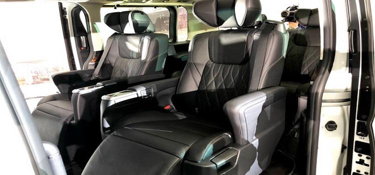 เบาะนั่งผู้โดยสารAll New Toyota Majesty