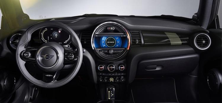 ภายใน Mini Cooper SE2020