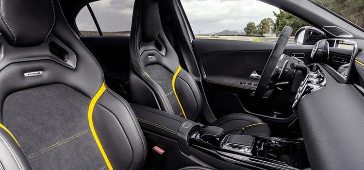 เบาะนั่งคนขับ และข้างคนขับ Mercedes-AMG A 45 และ CLA 45
