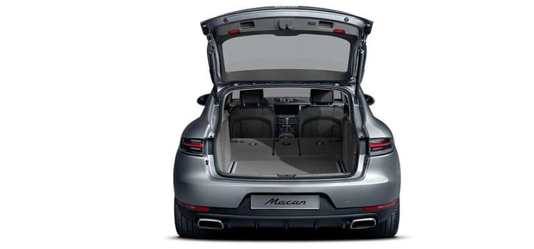 ที่เก็บของด้านหลัง Porsche Macan