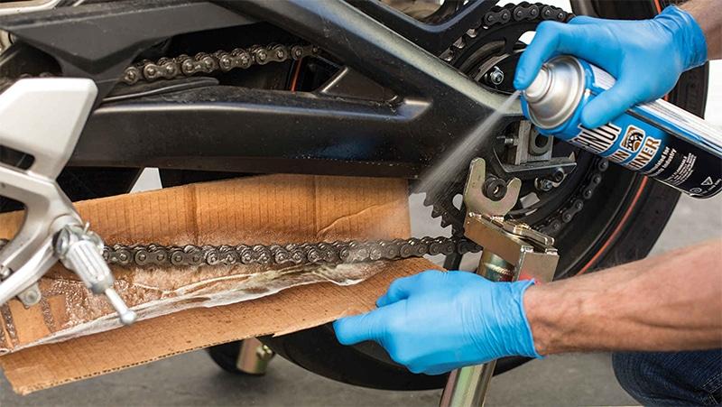 แนะนำวิธีการล้างโซ่รถมอเตอร์ไซค์ และเทคนิคการดูแลโซ่รถบิ๊กไบค์ 2