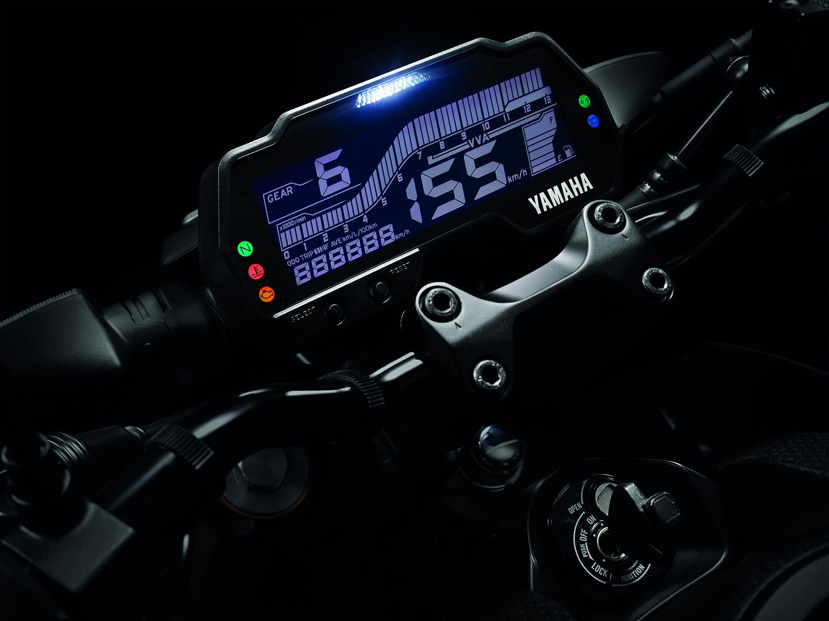 หน้าปัดเรือนไมล์ Yamaha MT-15