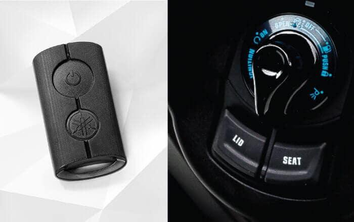 กุญแจอัจฉรยะที่สามารถควบคุบรถ XMAX 300 ได้ทั้งคัน