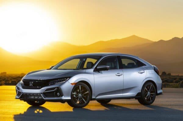 Honda Civic Hatchback 2020 รุ่นปรับโฉมใหม่
