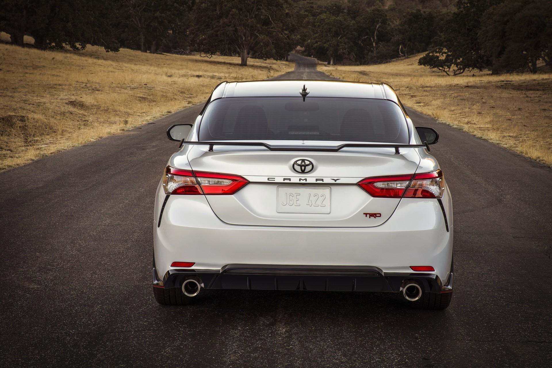 Toyota Camry TRD 2020 ทรงสปอร์ตเตรียมเปิดตัวปลายปีนี้ที่อเมริกา 4