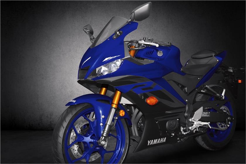 ด้านหน้ารถ Yamaha YZF R3