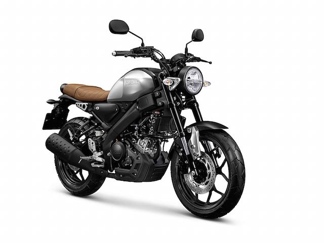 Yamaha XSR155 สีเทา