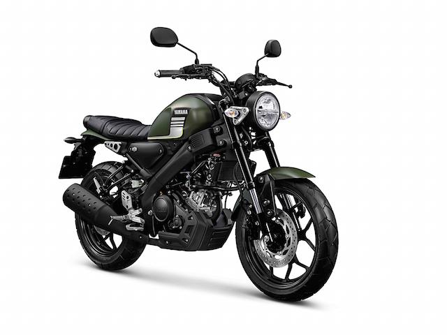 Yamaha XSR155 สีเขียว
