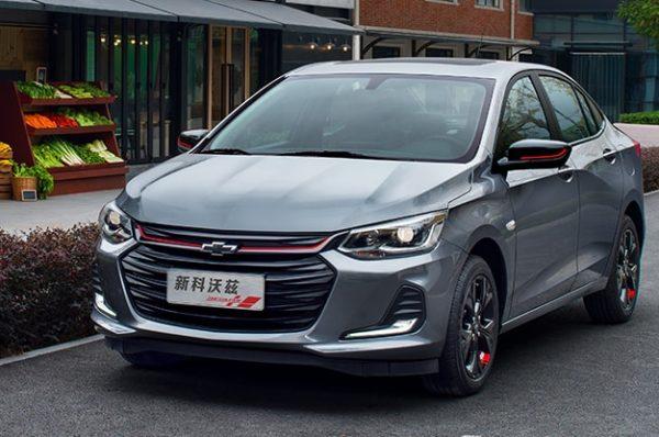Chevrolet ONIX Sedan ราคาเพียง 391,000 บาท ในแดนมังกร