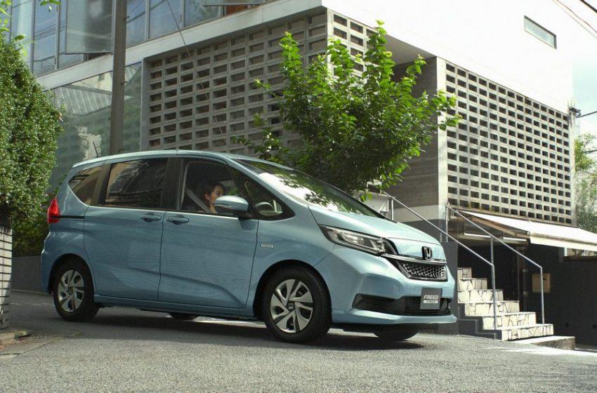 Honda Freed เตรียมเปิดตัวรุ่นไมเนอร์เช้นจ์ในญิปุ่น เดือนตุลาคมนี้