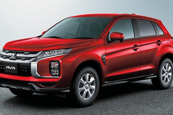 Mitsubishi RVR รุ่นปรับโฉม ราคา 608,000 บาท ในแดนปลาดิบ